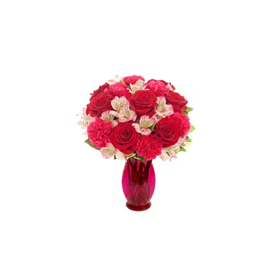 """Our Blushing Love"" flower bouquet (BF501-11K)"